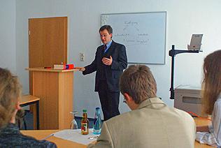 Dr. Thomas Langner, Fachanwalt für Arbeitsrecht und Familienrecht in Chemnitz, Seminare zum Arbeitsrecht und Familienrecht